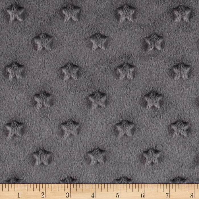 Telio Minky Star Dot Charcoal