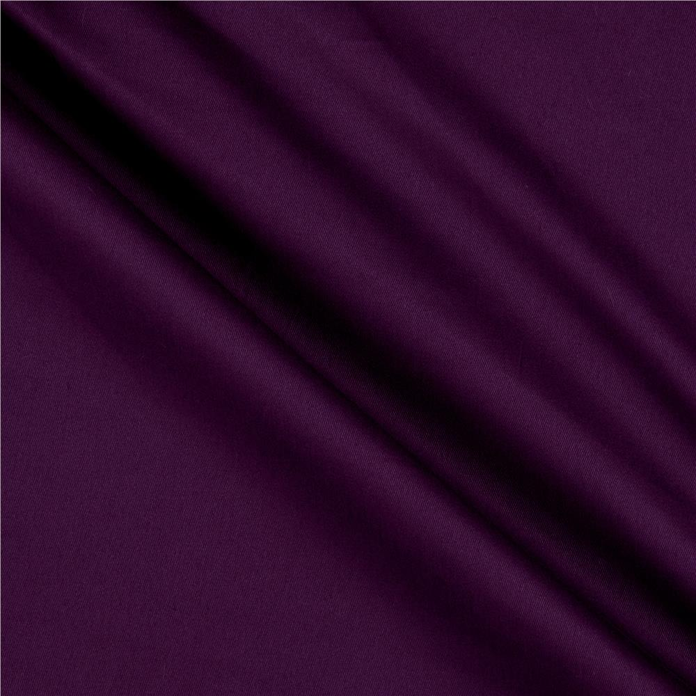 Cotton twill purple discount designer fabric for Cloth fabric