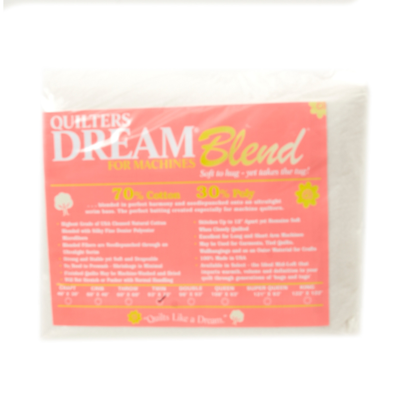Quilter's Dream Blend (93'' x 72'') Twin by Quilter's Dream in USA
