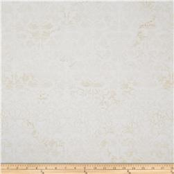 Flower Fantasy Tonal Damask Cream