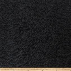 Fabricut Alloy Faux Leather Onyx