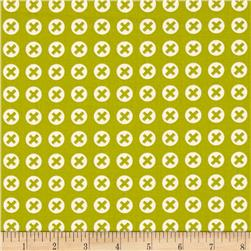 Moda Reel Time Checked Chartreuse