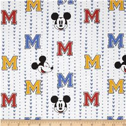 Disney Mickey All Star Stripe White