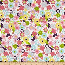 Chi Chi  Floral White