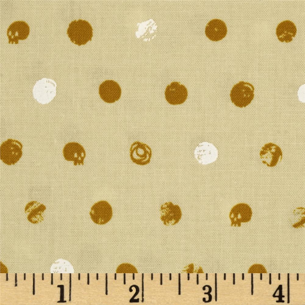 Cotton + Steel Spellbound Dots Mustard