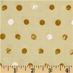 Cotton & Steel Spellbound Dots Mustard