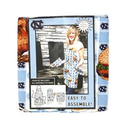 Collegiate BBQ Apron/Mit University of North Carolina