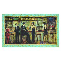 "Artworks Digital Bar Scene 24"" Panel Multi"
