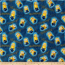Millions Of Minions Minion & Words Toss Denim