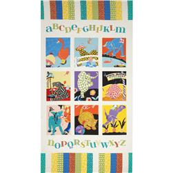 Patchwork Pals Panel White