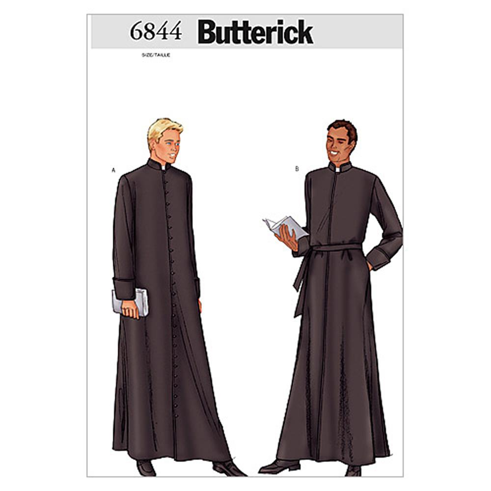 Butterick Men's Robe Pattern B6844 Size 320