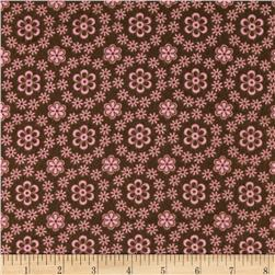 Cozy Cotton Flannel Flower Petals Garden Fabric