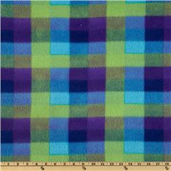 Fleece Plaids Blue/Green/Purple