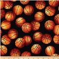 Sports Life 3 Basketballs Black