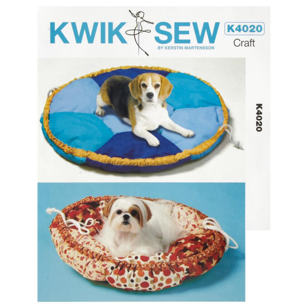 Kwik Sew Pet Bed in Two Sizes Pattern
