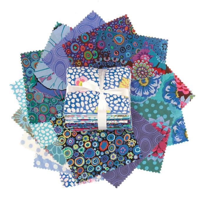 Kaffe Fassett Fat Quarter Assortment Blue