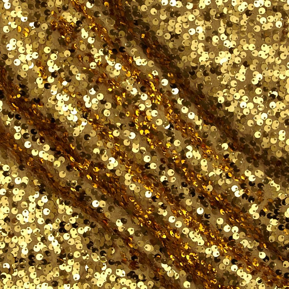 Starlight milton sequined fabric gold discount designer for Sparkly material