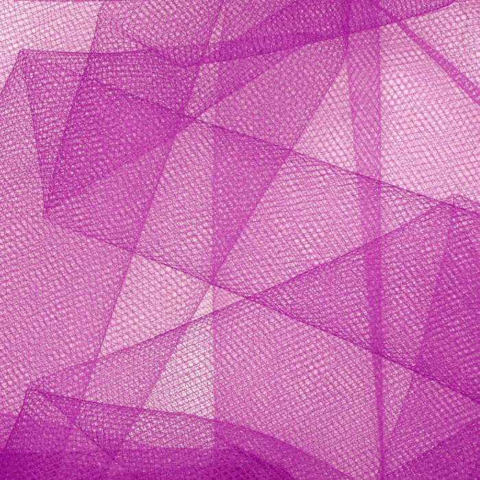 Image of 54'' Wide Tulle Purple Fabric