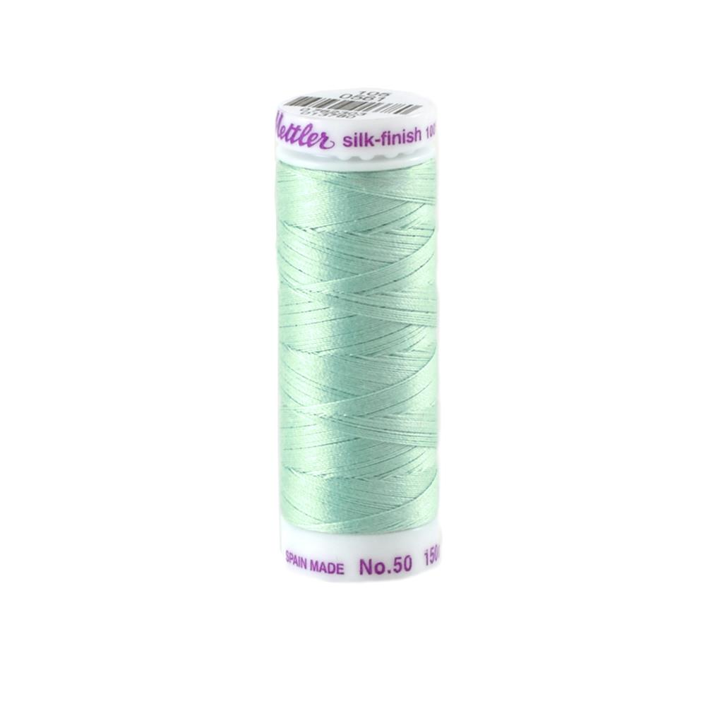 Mettler Cotton All Purpose Thread 3-ply 50wt 164YDS Mystic Ocean