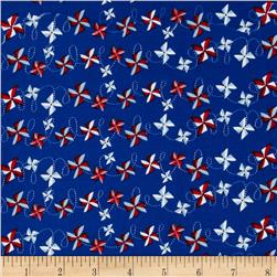 Riley Blake Summer Celebration Summer Pinwheels Navy