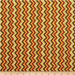 Moda Hello Fall Chevron Bark