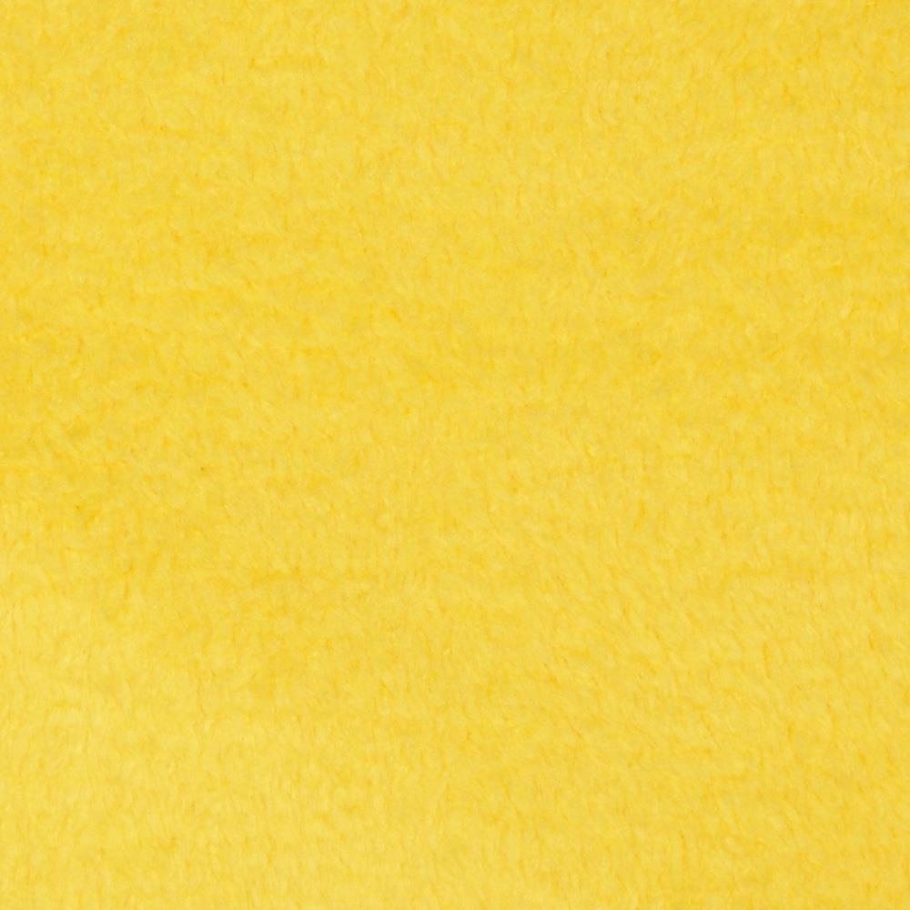 Fleece Solid Lemon