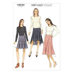 Vogue Misses' Skirt Pattern V9030 Size A50