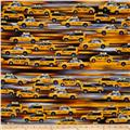 Kanvas NY State of Mind Taxi Cab Yellow