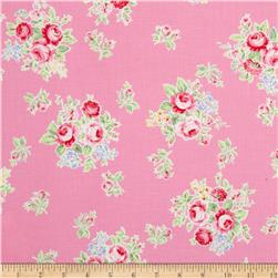 Lecien Flower Sugar Small Floral Pink
