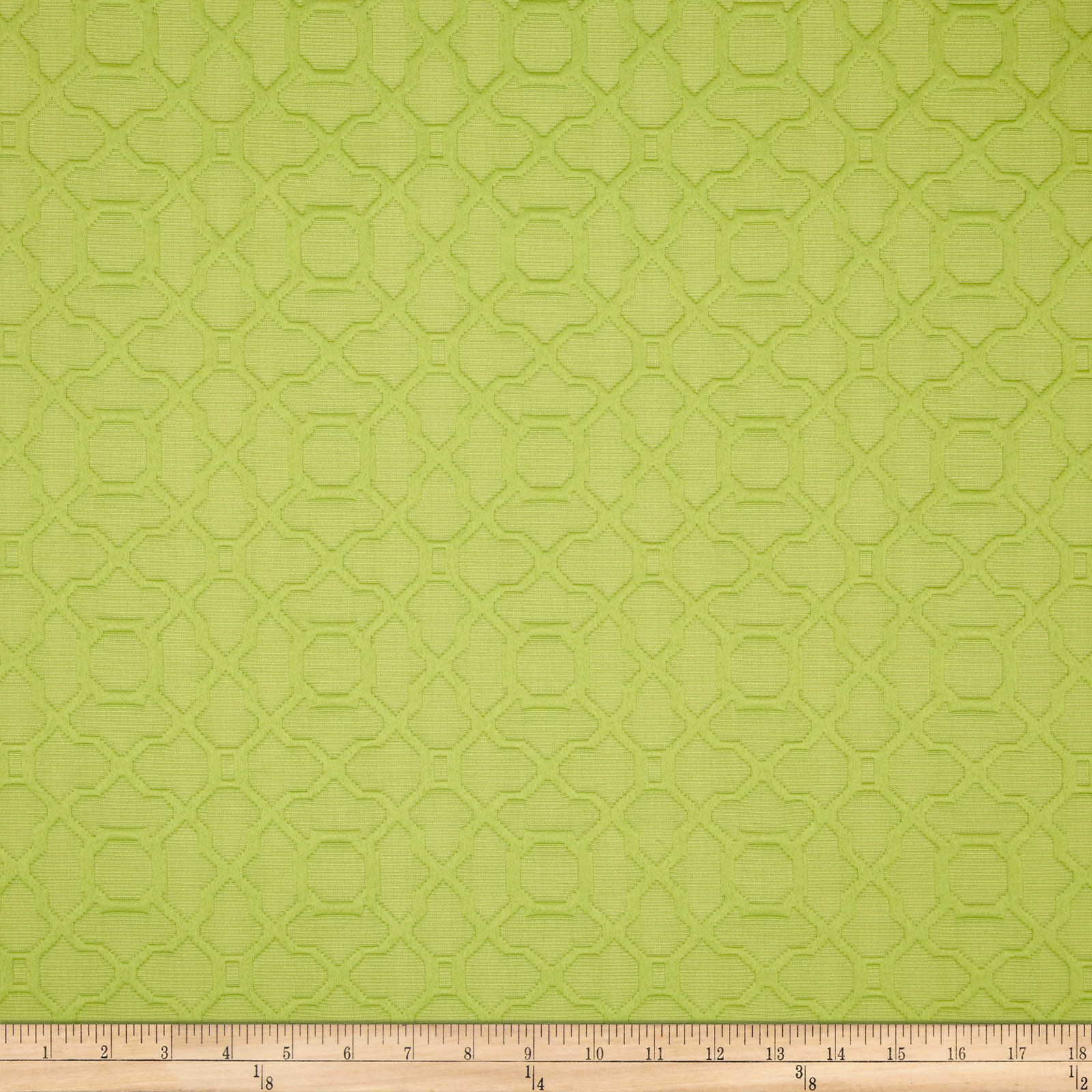 Waverly Marin Matelasse Lime Fabric