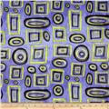 Graffetti Shapes Blue