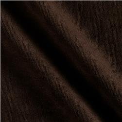 Cotton Poly Terry Velour Chocolate