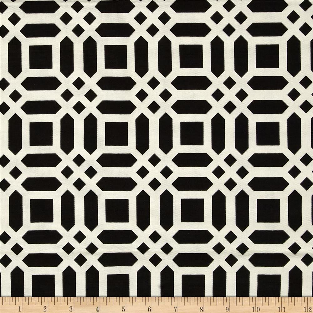 Riley Blake Home Decor Vivid Lattice Black