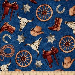 Cattle Drive Accessories Blue