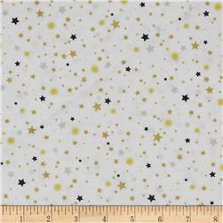 All That Glitters Metallic Stellar Toss White