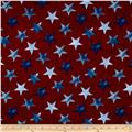 Oh My Stars Weathered Large Stars Dark Red