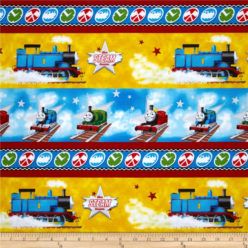 Thomas the Train Team Thomas Scenic Stripe Blue/Yellow