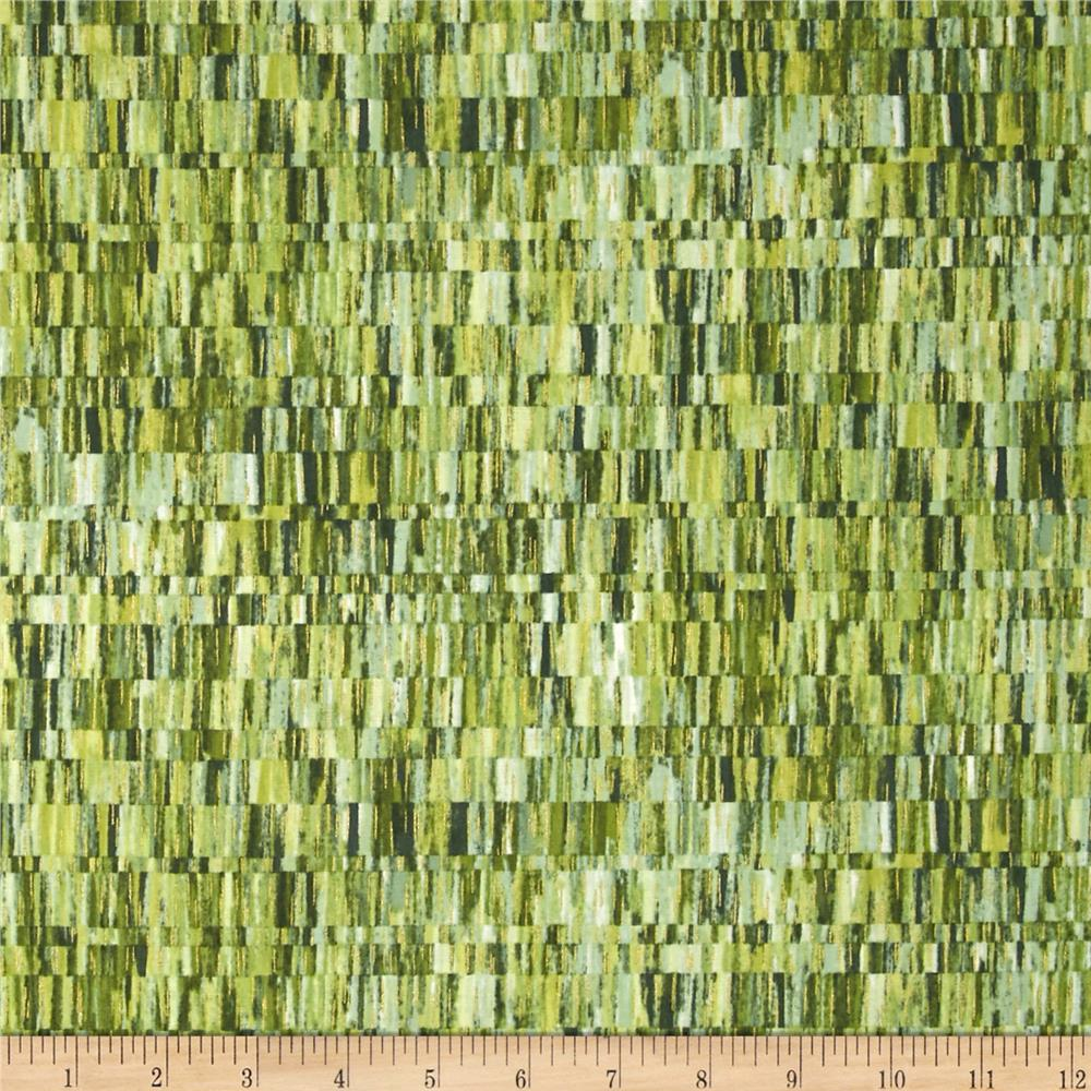 Falls Canvas Broken Stripe Green