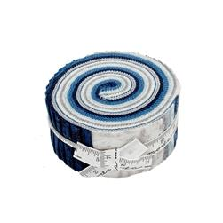Moda Forest Frost II Glitter Jelly Roll