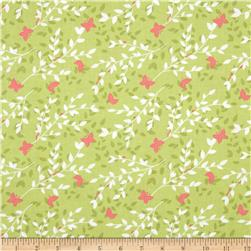 Michael Miller Sweet Leaves Bloom Fabric