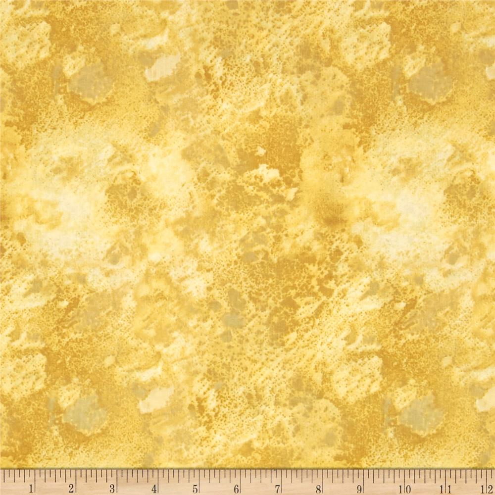 "108"" Wide Essentials Quilt Back Cosmos Golden Tan"