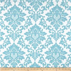 Premier Prints Cecilia Coastal Blue Fabric
