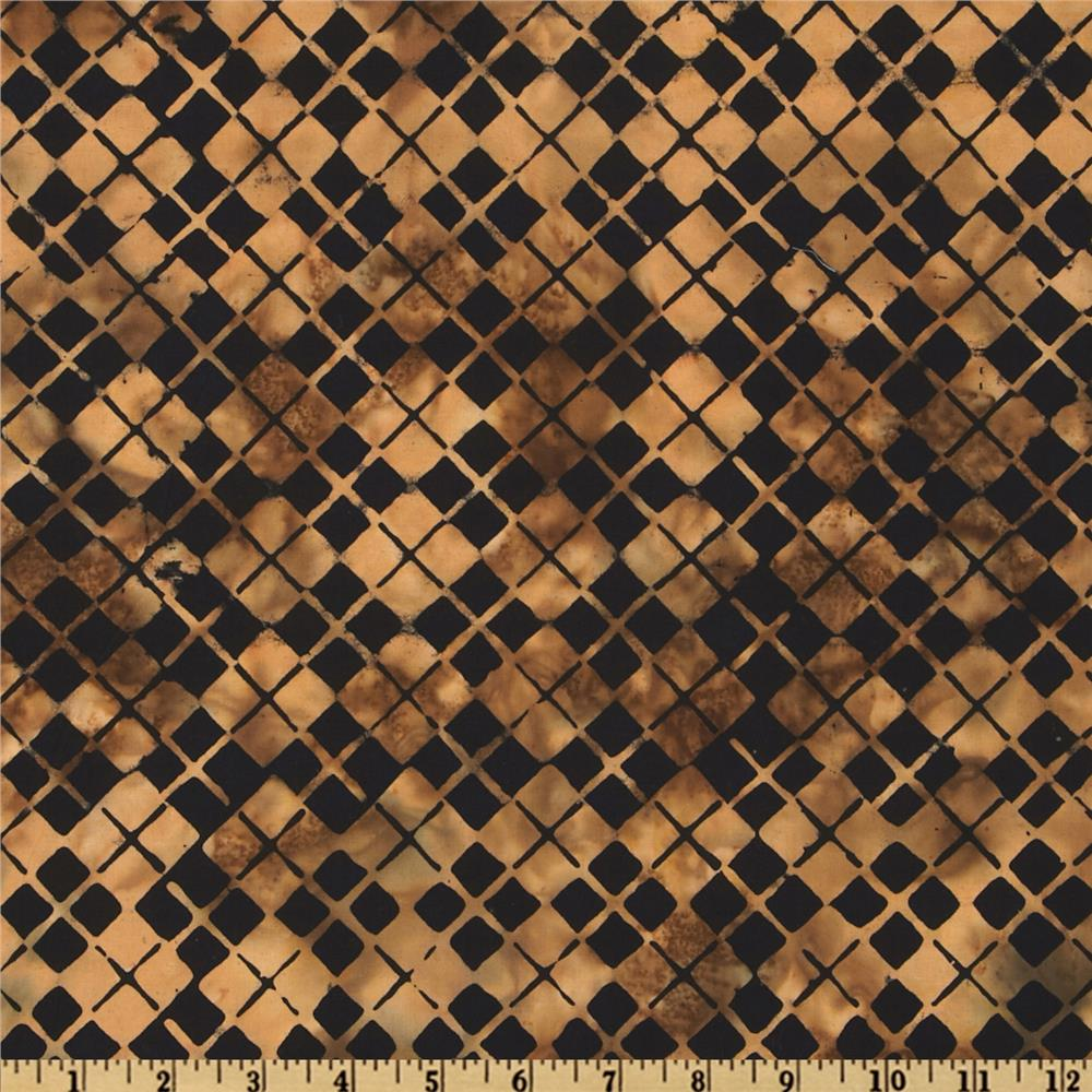 Bali Batik Argyle Antique Black
