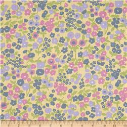 Aria Cotton Poly Broadcloth Yellow