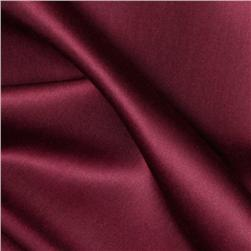 Radiance Cotton/Silk Poplin Cranberry