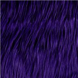Faux Fur Gorilla Purple