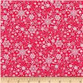 Contempo Mulberry Lane Snowflake Red