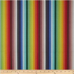 Michael Miller Beadwork Beaded Colorband Stripe Multi