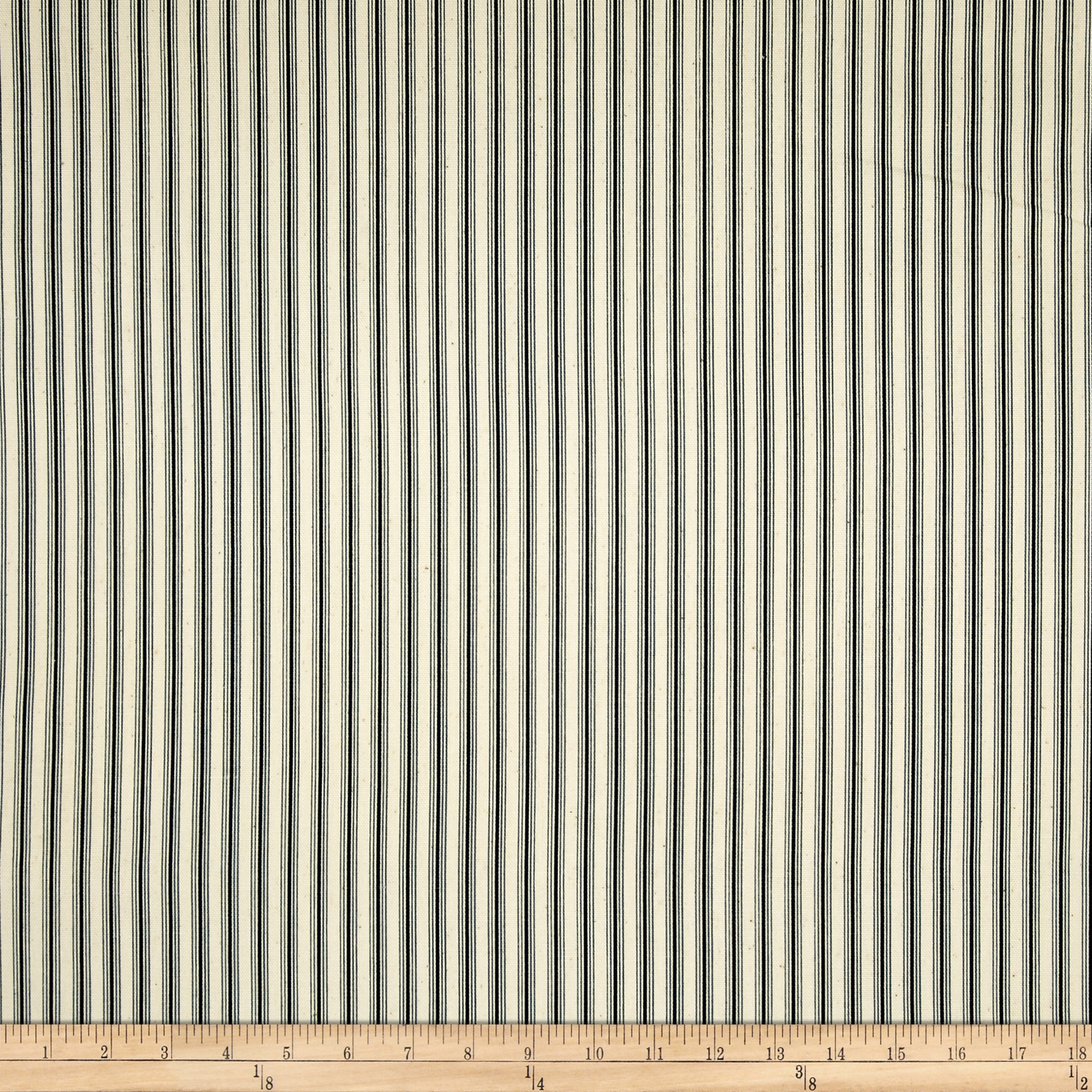 Magnolia Home Fashions Cottage Stripe Navy