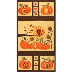Moda Hello Fall Panel Bark
